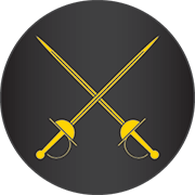 Badge of the Office of the Rapier Marshal