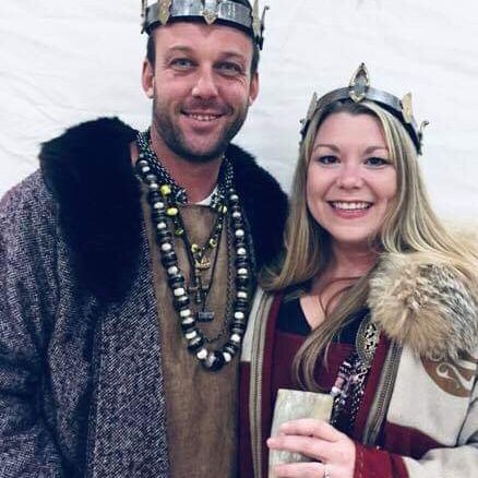 King Kjartan and Queen Sha'ya